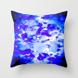 Nightime Glow Throw Pillow