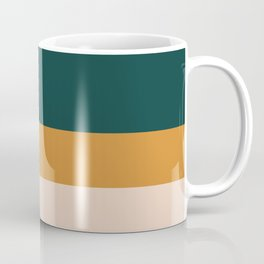 Three Colors Contemporary Stripes Coffee Mug