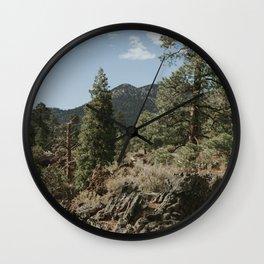 Flagstaff, AZ Wall Clock