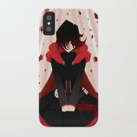 rwby iPhone & iPod Cases featuring Red by Auraya Frost