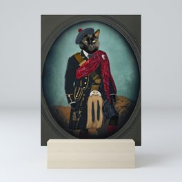 Boris the Bruce, Mouser-in-Chief Mini Art Print