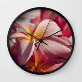 Pua Melia Ke Aloha Maui Hikina Wall Clock