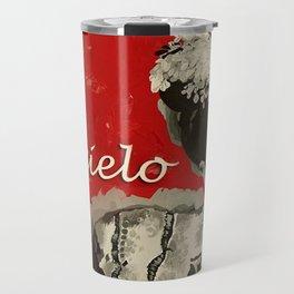 FRIDA KAHLO LETTER Travel Mug