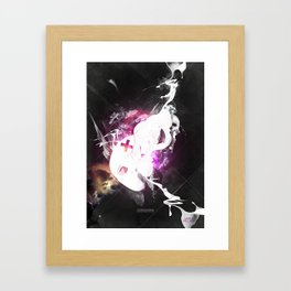 Abduzeedo's World Collabs #2  with Bechira Sorin Framed Art Print