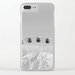 Mount Rainier Ferris Wheel Clear iPhone Case