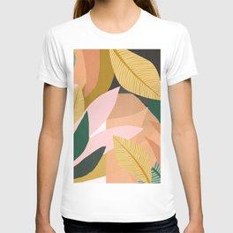 Tropical Jungle Abstract Art  T-shirt