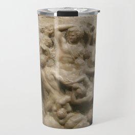 "Michelangelo ""Battle of the Centaurs"" Travel Mug"