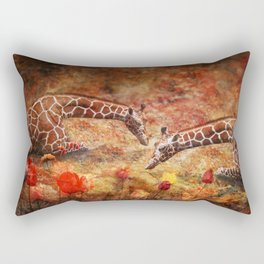 Garden Whimsey Rectangular Pillow
