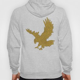 Topographic Eagle Hoody