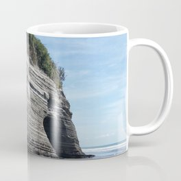 Elephant Rock, Taranaki, New Zealand Coffee Mug