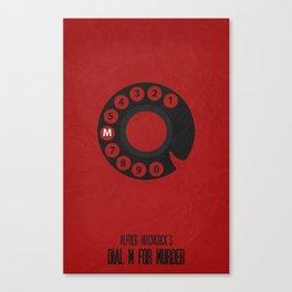 Dial M For Murder 01 Canvas Print