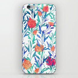Vibrant Floral #society6 #buyart #decor iPhone Skin