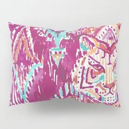 TIGER PROWESS - FUCHSIA Pillow Sham