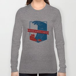 Nazaré - The North Canyon Long Sleeve T-shirt