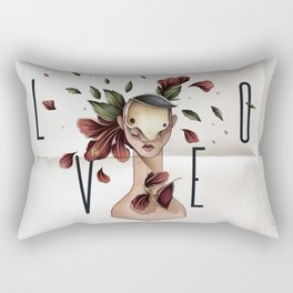 // L O V E // Rectangular Pillow