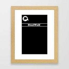 SteelWolf  Framed Art Print
