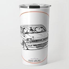 Crazy Car Art 0189 Travel Mug