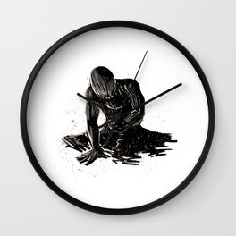 THE DUST OF THE GROUND Wall Clock