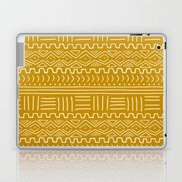 Mud Cloth on Mustard Laptop & iPad Skin