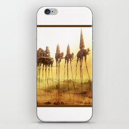 -Caravan Dali- iPhone Skin