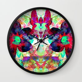 Overgrowth Wall Clock