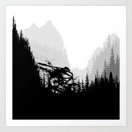 Ink Race Art Print
