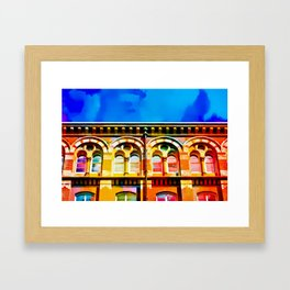 The arches Framed Art Print