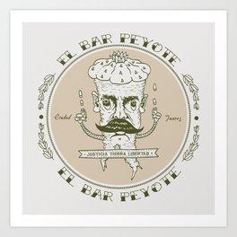 EL BAR PEYOTE Art Print