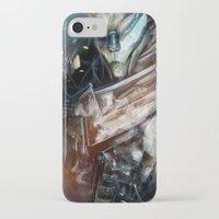 garrus iPhone & iPod Cases featuring Garrus Vakarian by Alba Palacio