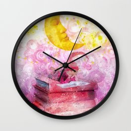 Little Reader Wall Clock