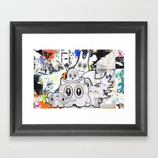 Sugar Monsters Framed Art Print