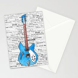 Music for the Soul & Spirit - Blue Series Stationery Cards
