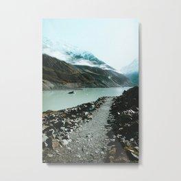 Mt Cook, New Zealand Metal Print