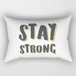 Stay Strong Rectangular Pillow