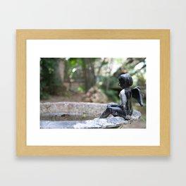 Wishing for Birds Framed Art Print