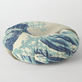 Ponyo and the Great Wave Floor Pillow