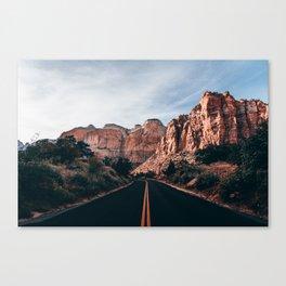 Roads of Zion Canvas Print
