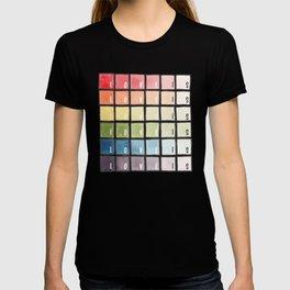 Love is love rainbow watercolor T-shirt