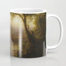Tropical Scenery by Frederic Edwin Church Coffee Mug