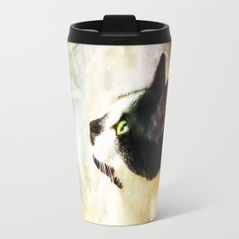 Gypsy Da Fleuky Cat and the Kitty Whisker Wishes Travel Mug
