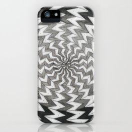 spiral 1 iPhone Case