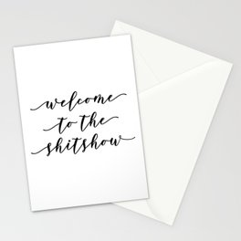 Welcome to the ShitShow Stationery Cards