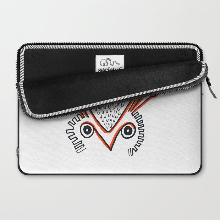 Cute Owl Laptop Sleeve
