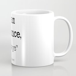 "The Office Micheal Scott Quote "" I am bee, always "" Coffee Mug"