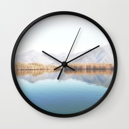 Lake Of Tranquility Wall Clock