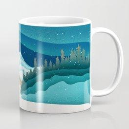 Mt. Hood from the base of Heather Canyon Coffee Mug