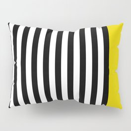 Liquorice allsorts, yellow Pillow Sham