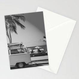 Surfing summer half 2 Stationery Cards