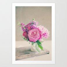 Midday Bouquet Art Print