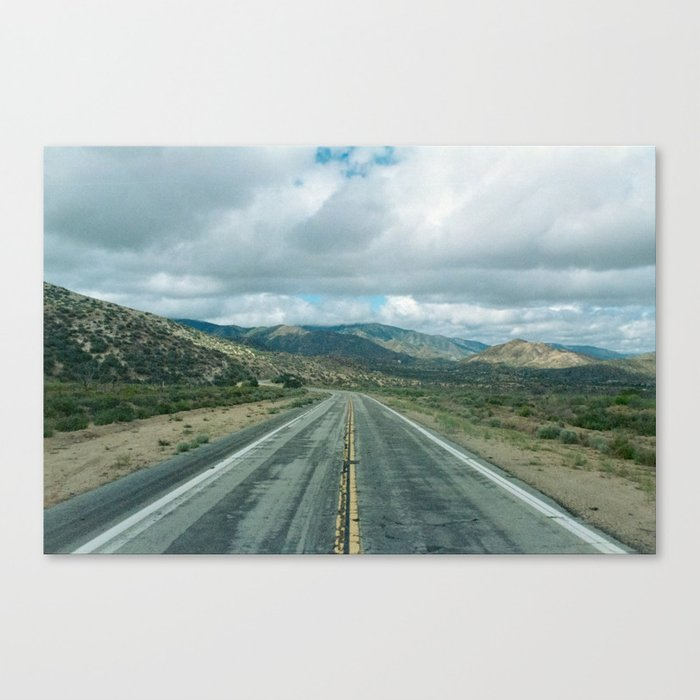 The Road to Los Angeles Canvas Print